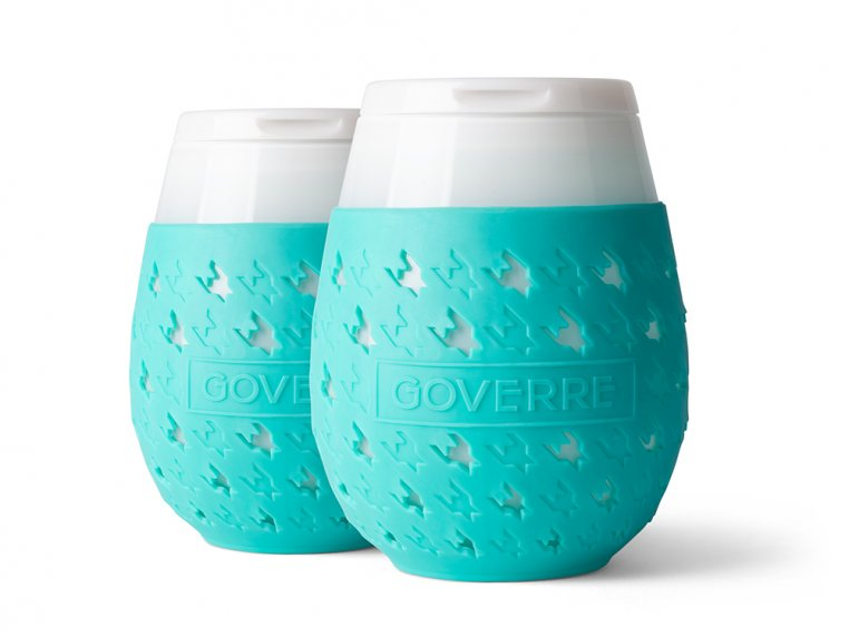 Colorful Chic Stemless Wine Glass Set by GOVERRE - 5