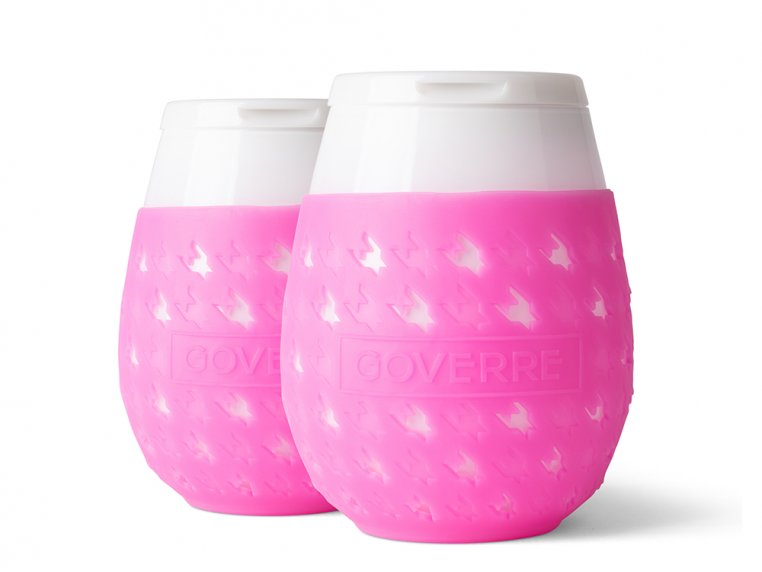 Colorful Chic Stemless Wine Glass Set by GOVERRE - 9