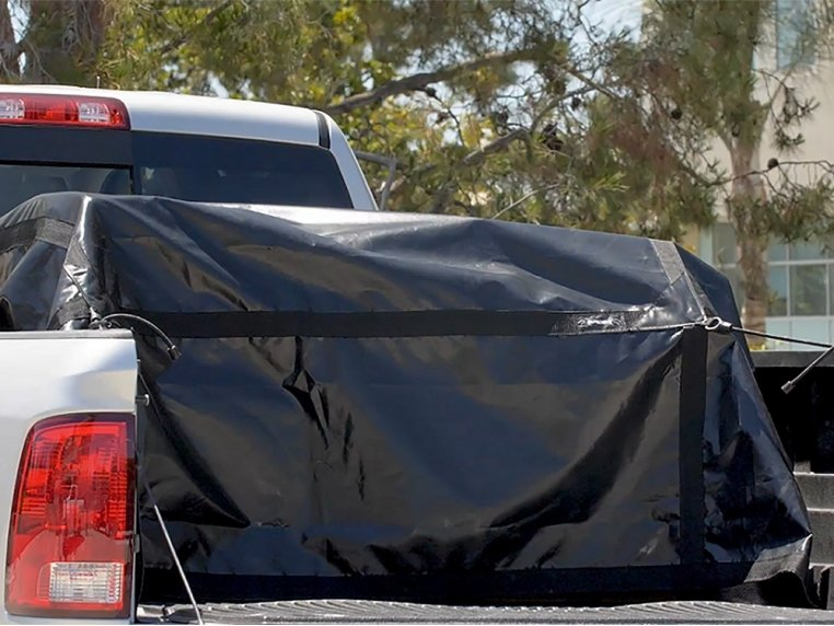 Waterproof Tarp with Attached Bungee Cords by Spider Tarp - 1