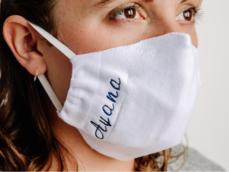 Customized Cloth Face Mask & Filters by Nimbly - 2