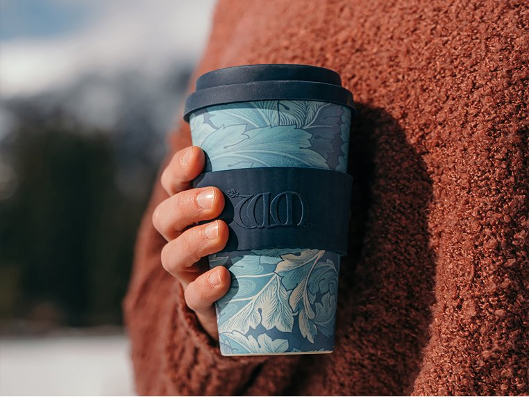 William Morris Reusable Coffee Cup by Ecoffee Cup - 1