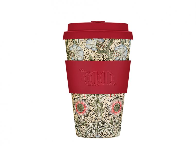 William Morris Reusable Coffee Cup by Ecoffee Cup - 4