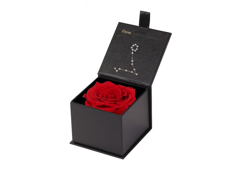 Preserved Rose Zodiac Gift Box by Eternal Roses® - 35