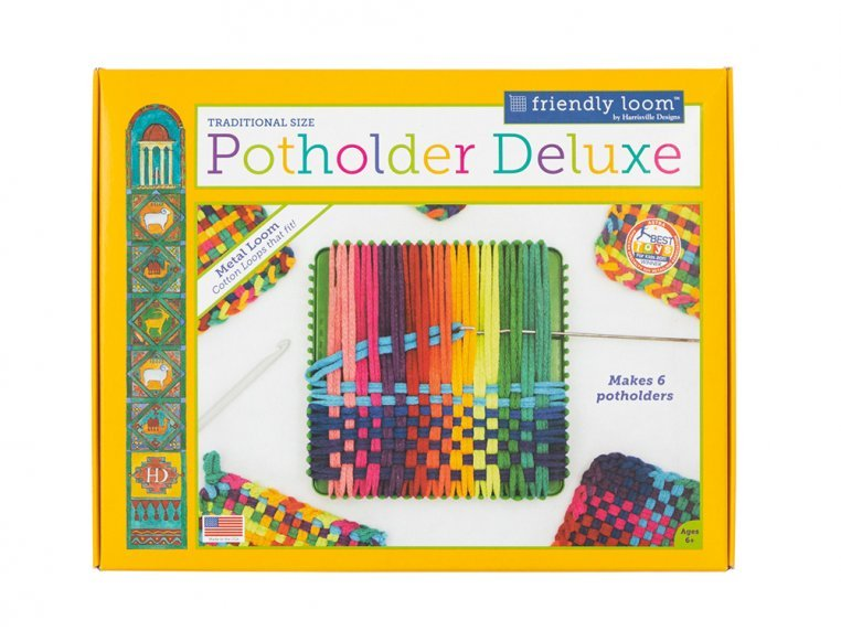 Design & Create Potholder Loom Kit by Friendly Loom™ by Harrisville Designs - 5