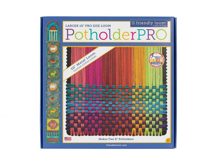 Design & Create Potholder Loom Kit by Friendly Loom™ by Harrisville Designs - 6