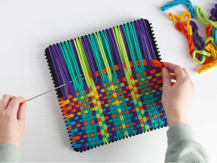 Design & Create Potholder Loom Kit by Friendly Loom™ by Harrisville Designs - 2