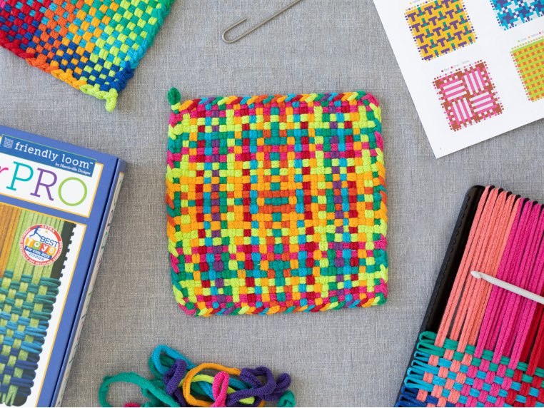 Design & Create Potholder Loom Kit by Friendly Loom™ by Harrisville Designs - 3