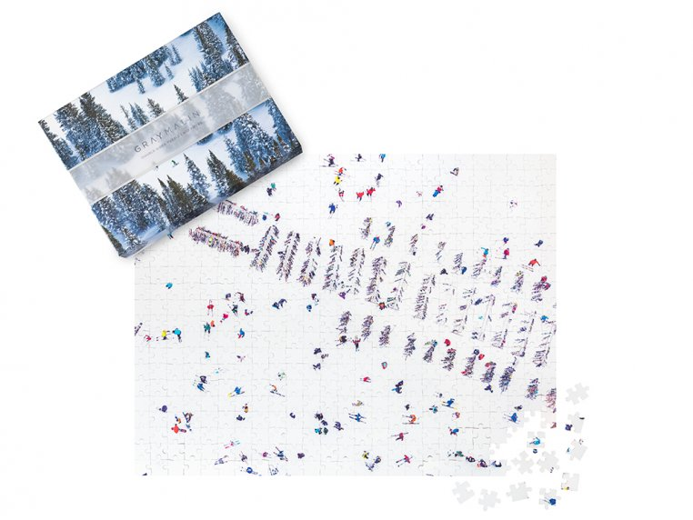 Gray Malin Two-Sided Aerial Photo Puzzle by Galison - 3