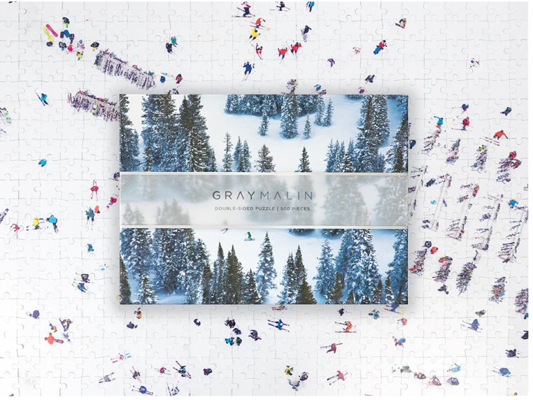 Gray Malin Two-Sided Aerial Photo Puzzle by Galison - 5