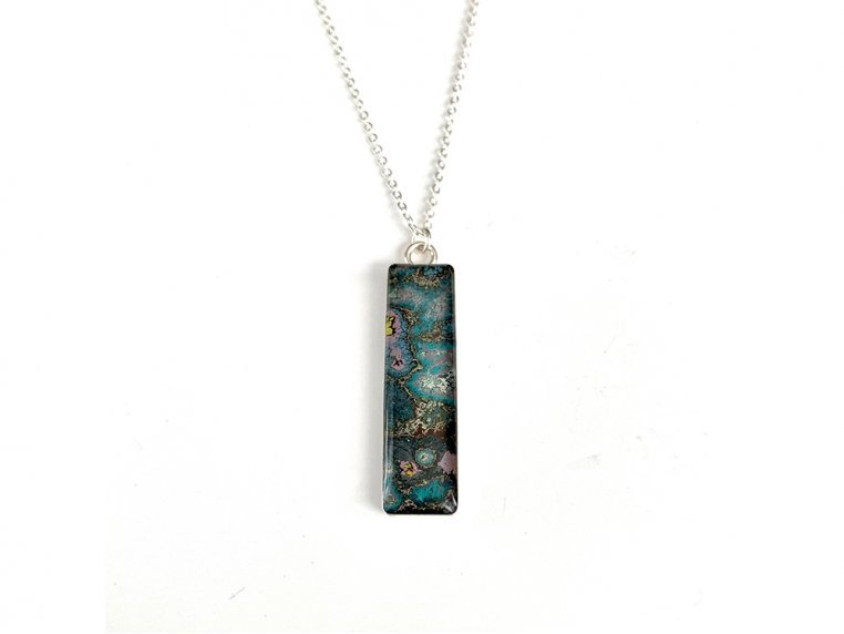 Eclectic Pendant Necklace by Rebel Nell - 1