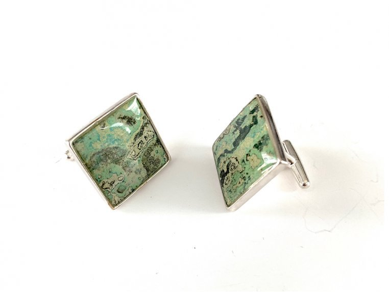 Antonio Stud Cufflinks by Rebel Nell - 4