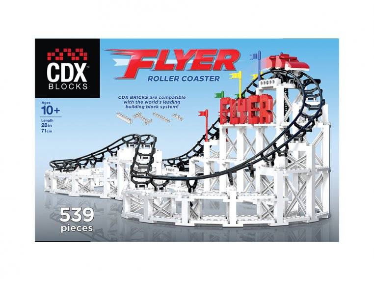 Roller Coaster Building Block Set by CDX BLOCKS - 2