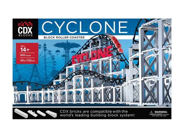 Roller Coaster Building Block Set by CDX BLOCKS - 3