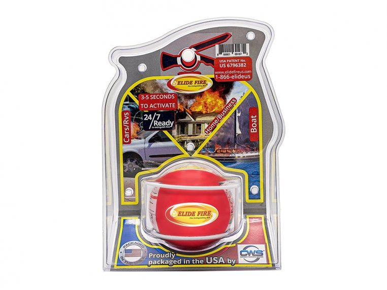 Fire Extinguisher Ball by Elide Fire USA - 3