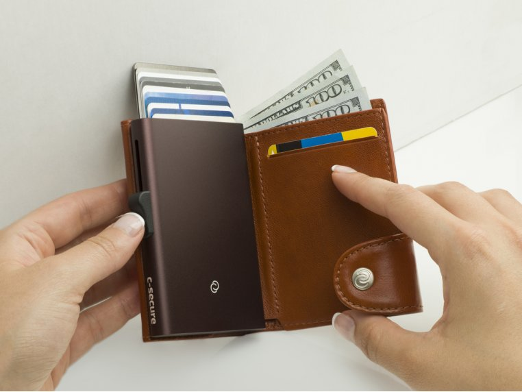 Modern Wallet & RFID Protector by JS Navy - 1