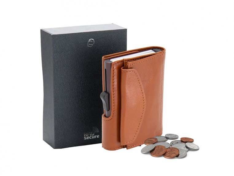 Modern Coin Wallet & RFID Protector by JS Navy - 4