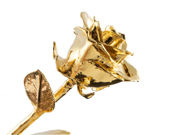 Gold/Platinum Dipped Preserved Rose by The Forever Rose - 3