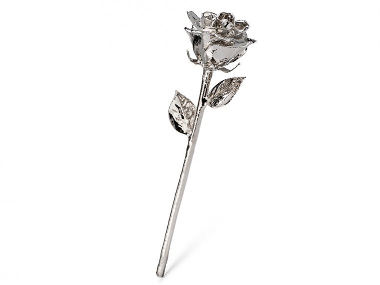 Gold/Platinum Dipped Preserved Rose by The Forever Rose - 6