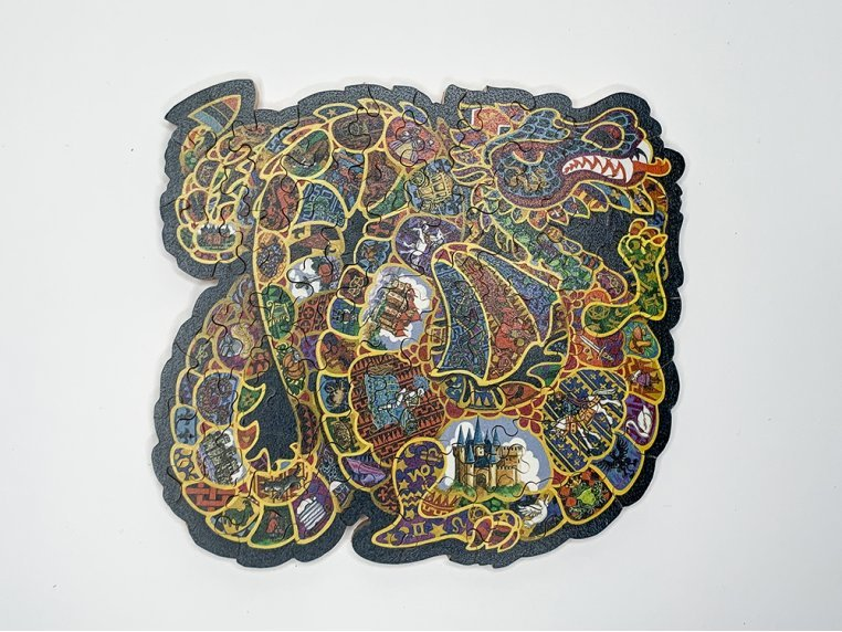 50 Piece Abstract Jigsaw Puzzle by The Waterford Puzzle Company - 1