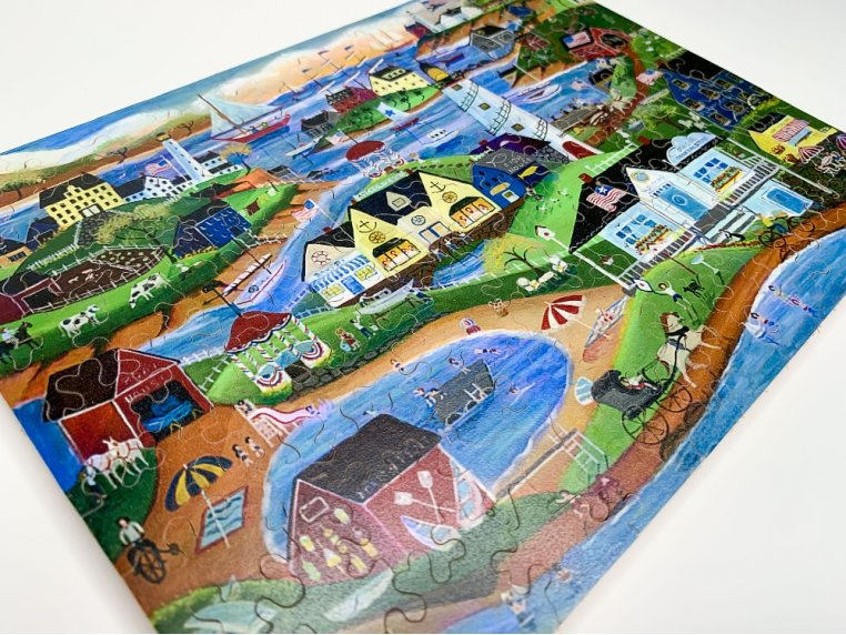 100 Piece Art Jigsaw Puzzle by The Waterford Puzzle Company - 3