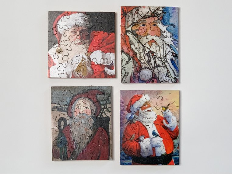 4-Pack Themed Pocket Puzzles by The Waterford Puzzle Company - 8
