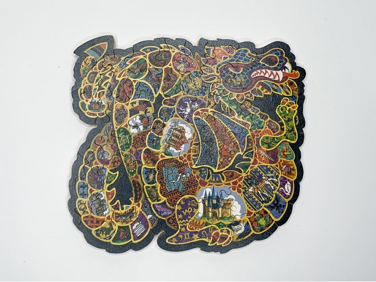 50 Piece Abstract Jigsaw Puzzle by The Waterford Puzzle Company - 4