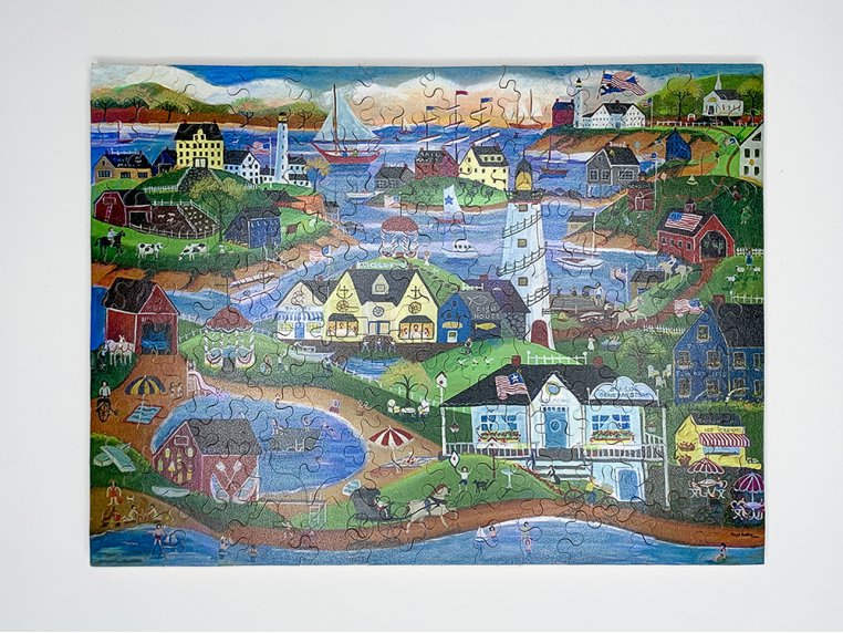 100 Piece Art Jigsaw Puzzle by The Waterford Puzzle Company - 4