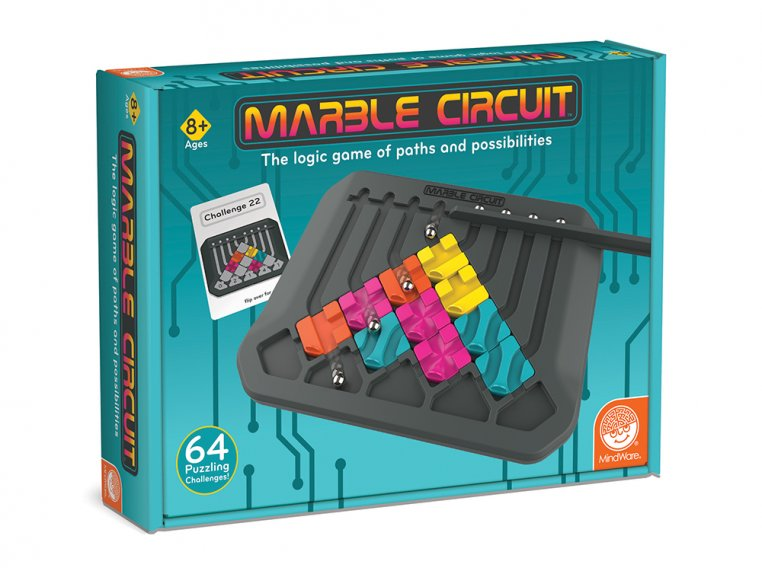 Marble Circuit Tile Strategy Game by MindWare - 4