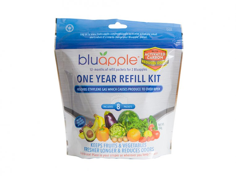 12 Month Refill Kit with Activated Carbon by BluApple - 1