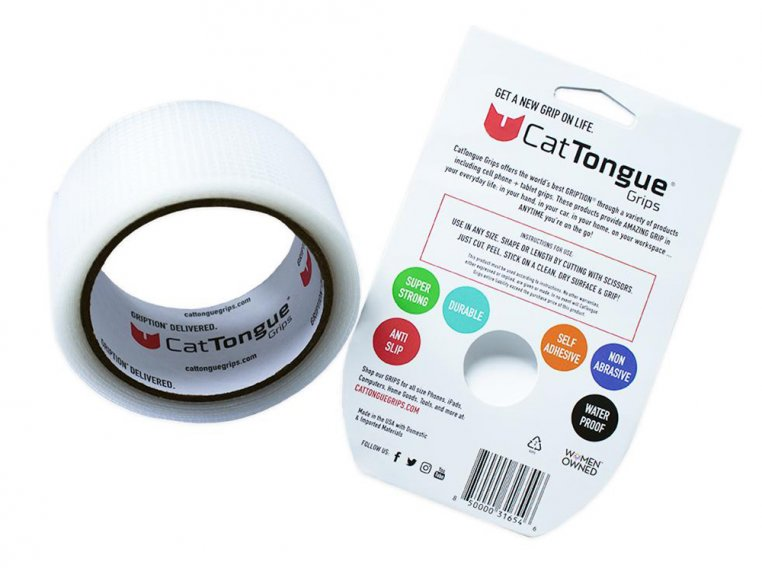 Non-Abrasive Recyclable Grip Tape by CatTongue Grips - 3