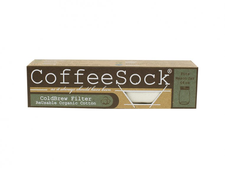 Reusable Cold Brew Coffee/Tea Filters by CoffeeSock - 6