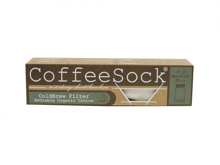 Reusable Cold Brew Coffee/Tea Filters by CoffeeSock - 7