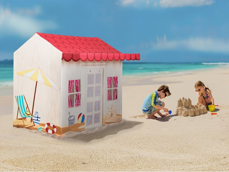 Kid's Cotton Canvas Indoor Play Tent by Role Play™ - 4