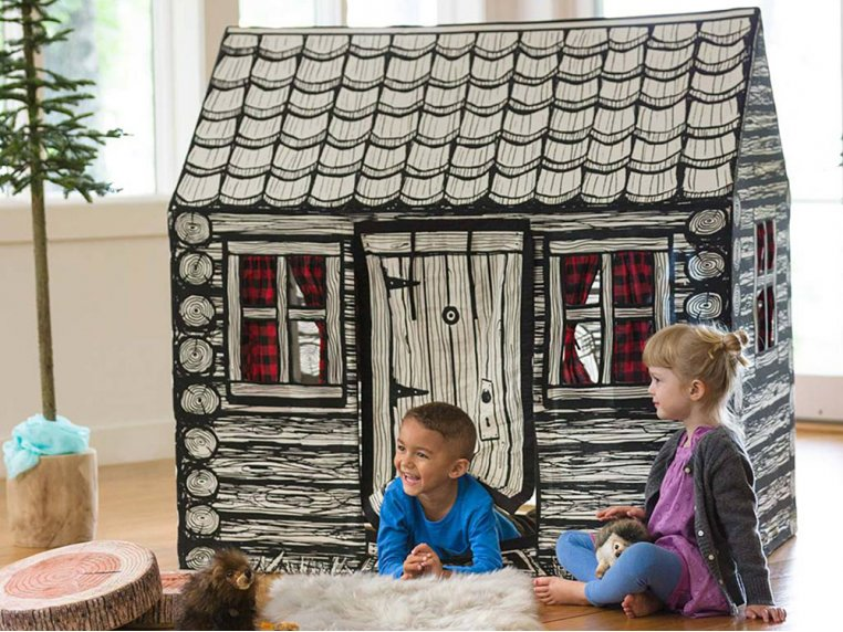 Kid's Cotton Canvas Indoor Play Tent by Role Play™ - 5