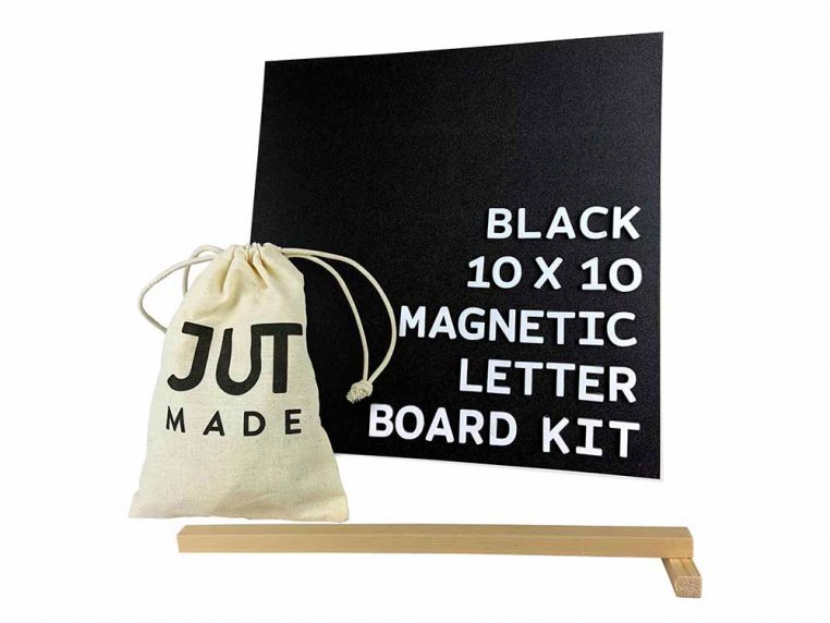 Wooden Magnetic Letter Board Kit by Jut Made - 7