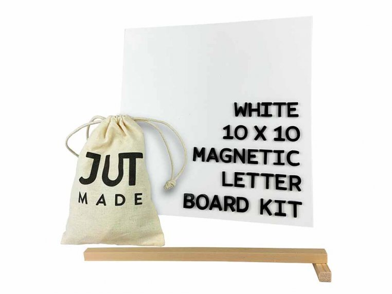 Wooden Magnetic Letter Board Kit by Jut Made - 9