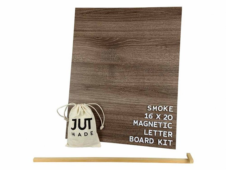 Wooden Magnetic Letter Board Kit by Jut Made - 12