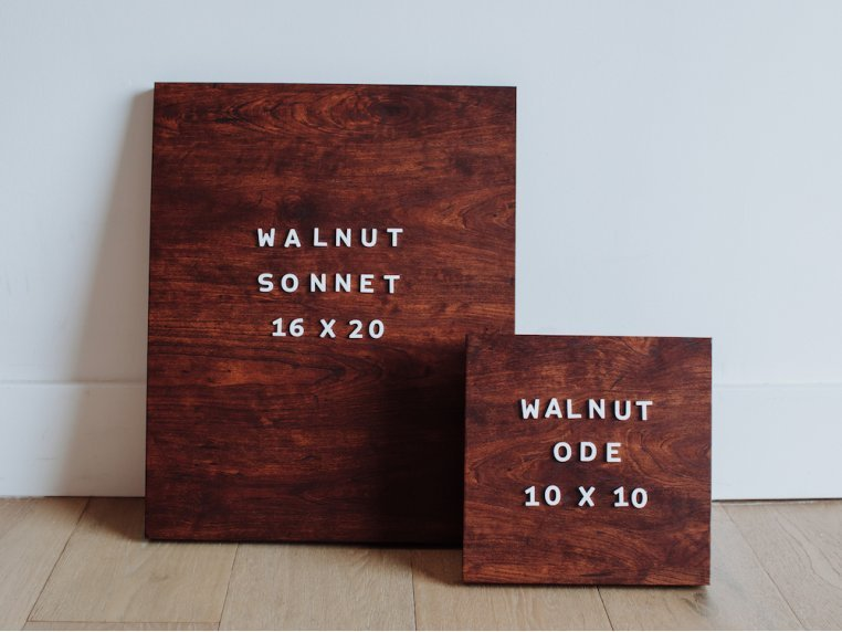 Wooden Magnetic Letter Board Kit by Jut Made - 3