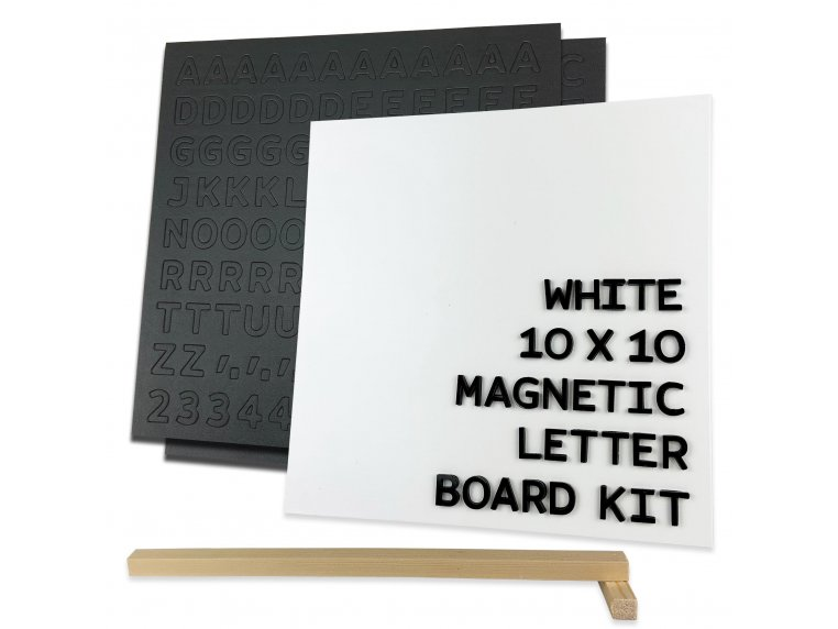 Wooden Magnetic Letter Board Kit by Jut Made - 8