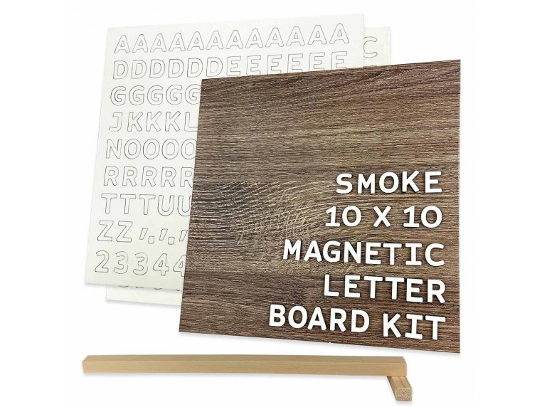 Wooden Magnetic Letter Board Kit by Jut Made - 10