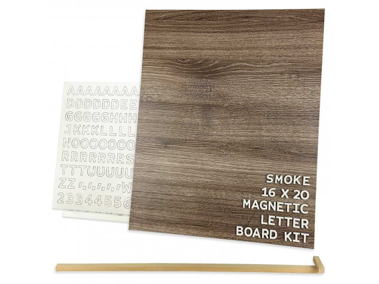 Wooden Magnetic Letter Board Kit by Jut Made - 11