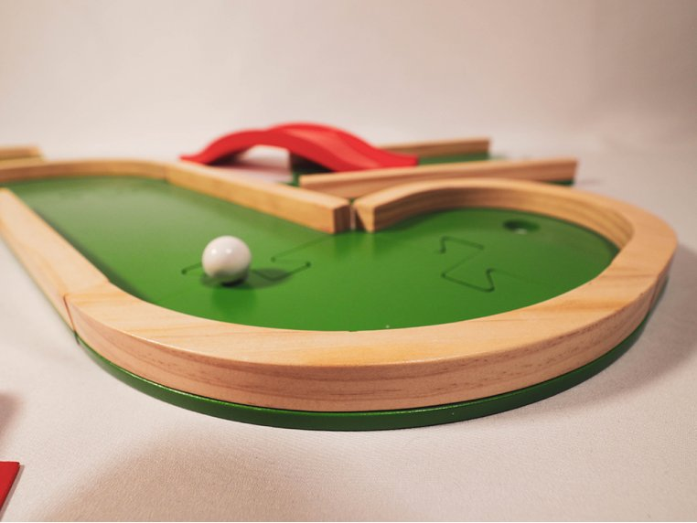 Wooden Mini Golf Board Game by Plakks - 3