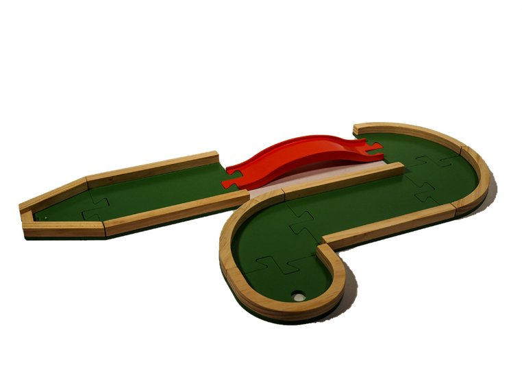 Wooden Mini Golf Board Game by Plakks - 4