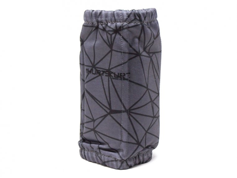 Stretch-To-Fit Hot/Cold Gel Sleeve - Black Gray - Small