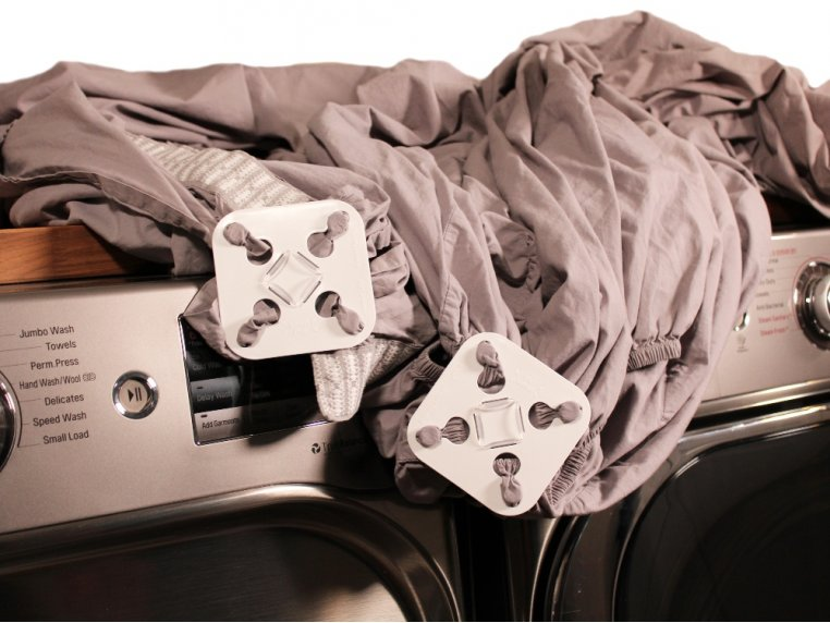Washer & Dryer Bed Sheet Detangler by Wad-Free® - 2