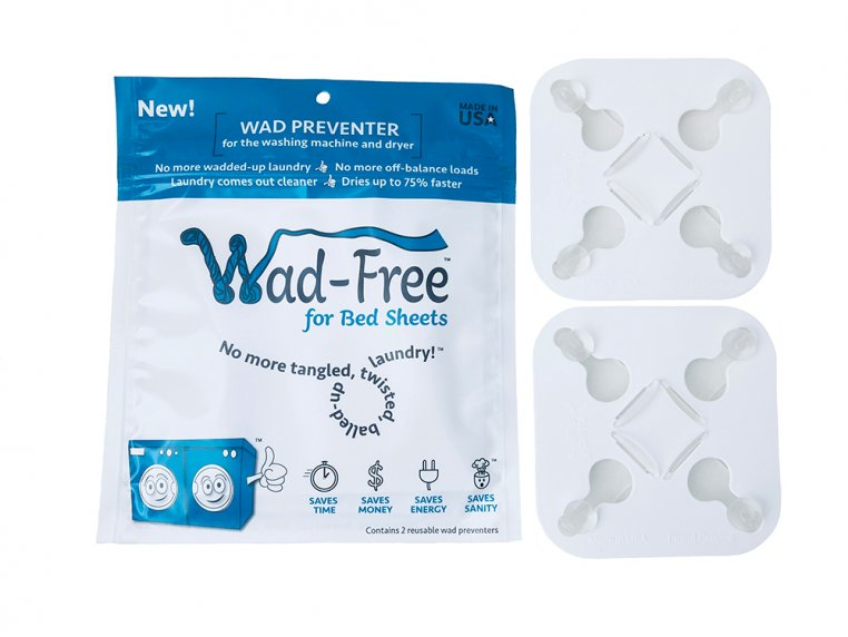Washer & Dryer Bed Sheet Detangler by Wad-Free® - 4