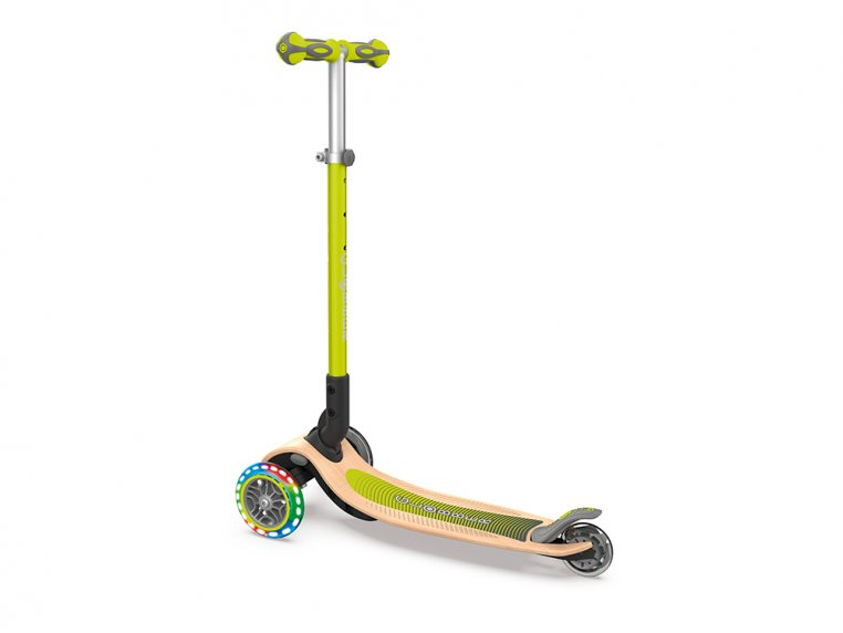 3-Wheel Foldable Light-Up Kid Scooter by Globber - 2