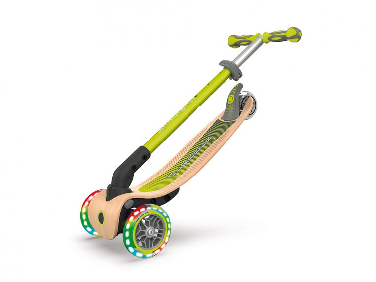 3-Wheel Foldable Light-Up Kid Scooter by Globber - 3
