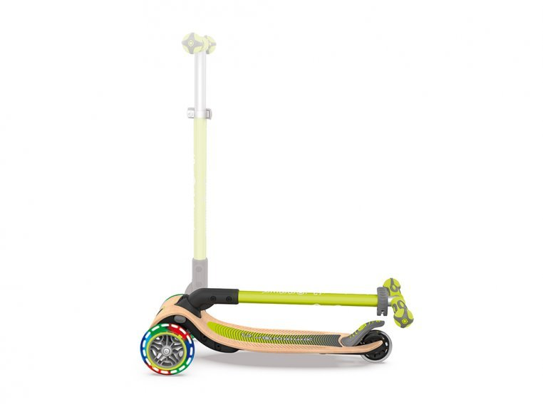 3-Wheel Foldable Light-Up Kid Scooter by Globber - 4