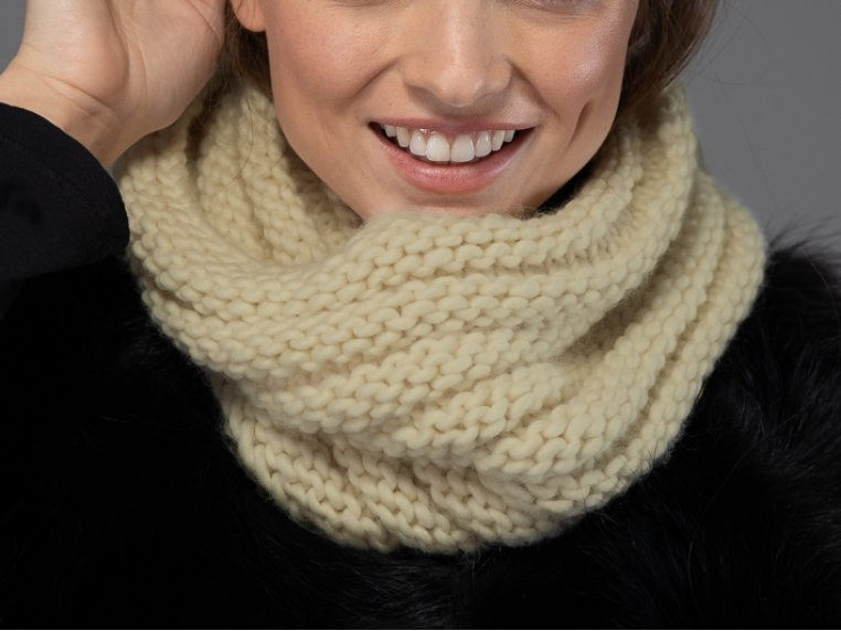 Beginner Portland Cowl Knit Kit by Third Piece - 1